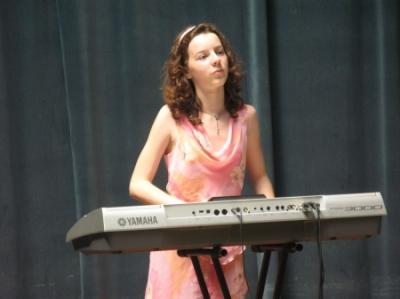 Баклыкова Мария, аккордеон, синтезатор
