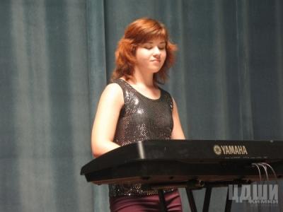 Еркина Мария, домра, синтезатор