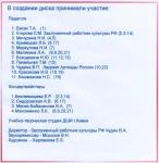 Играют учащиеся и выпускники -общешкольный сборник 2002 г.