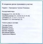 Играют учащиеся и выпускники класса Прохоренко Галины Петровны. Балалайка и домра