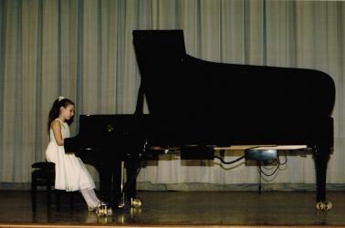 Пианистка Сидоренко Анна