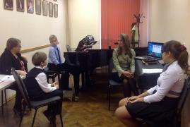 Открытые уроки преподавателей класса фортепиано