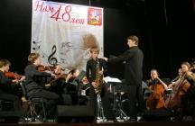 На Всероссийском конкурсе саксофонистов в г.Пушкино