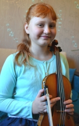 Скрипачка Елисеева Анна