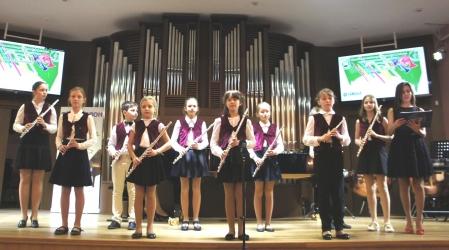 Ансамбль флейтистов «Соловушка»