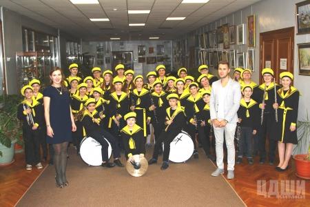Детский духовой оркестр «Юниор-бэнд»