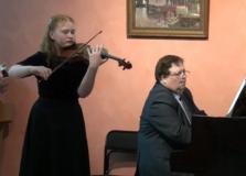 Творческие успехи наших скрипачей