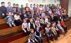 "Анонс! 13 апреля. Концерт хора ""Сто мальчишек"""