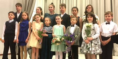Концерт класса Ларисы Владимировны Дроздовой